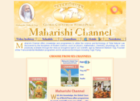 Maharishichannel.in thumbnail