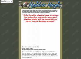Maidenhorsebettingsystem.com thumbnail