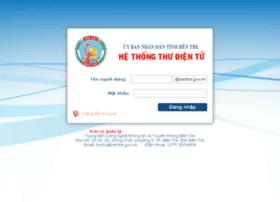 Mail.bentre.gov.vn thumbnail