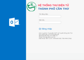 Mail.cantho.gov.vn thumbnail