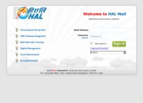 Mail.hal-india.com thumbnail