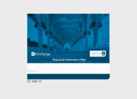 Mail.ksu.edu.sa thumbnail