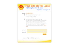 Mail.laocai.gov.vn thumbnail