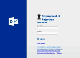 Mail.rajasthan.gov.in thumbnail