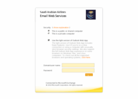 Mail.saudiairlines.com thumbnail