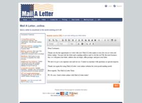 Mailaletter.com thumbnail