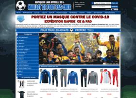Maillotsdefootpascher.fr thumbnail