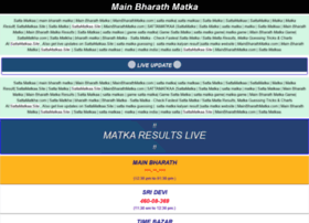 Mainbharathmatka.com thumbnail