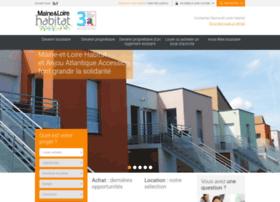 Maineetloire-habitat.fr thumbnail