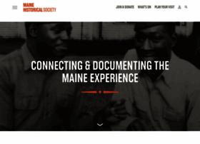 Mainehistory.org thumbnail