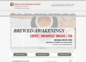 Mainstreetbaptistva.org thumbnail