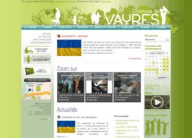 Mairie-vayres.fr thumbnail