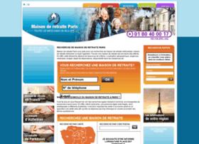 Maison-de-retraite-paris.fr thumbnail