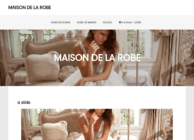 Maisondelarobe.fr thumbnail