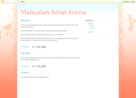 Malayalam-serial-actress.blogspot.com thumbnail
