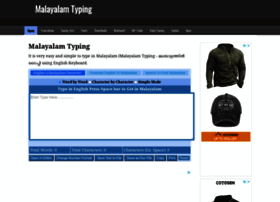Malayalam.indiatyping.com thumbnail
