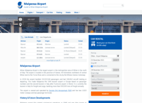 Malpensaairport.net thumbnail