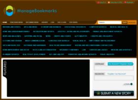 Managebookmarks.net thumbnail