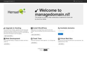 Managedomain.nl thumbnail