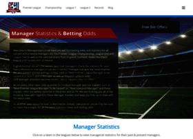 Managerstats.co.uk thumbnail