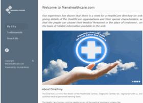 Manahealthcare.com thumbnail