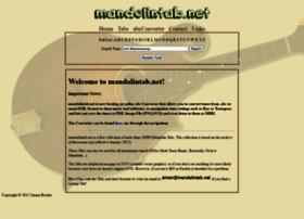 Mandolintab.net thumbnail