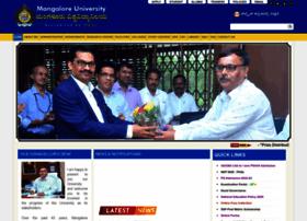 Mangaloreuniversity.ac.in thumbnail