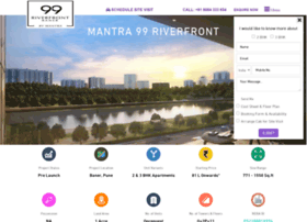 Mantra99riverfront.org.in thumbnail