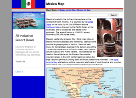 Map-of-mexico.org thumbnail