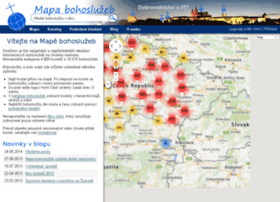 Mapabohosluzeb.cz thumbnail