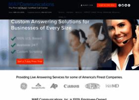 Mapcommunications.com thumbnail