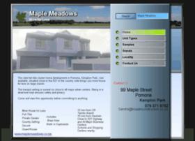 Maplemeadows.co.za thumbnail