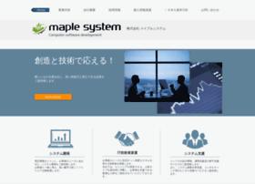 Maplesystem.co thumbnail