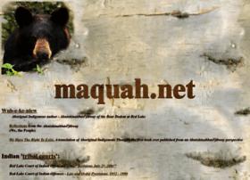 Maquah.net thumbnail