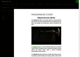 Maquinasdecoser.info thumbnail