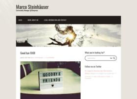 Marco-steinhaeuser.de thumbnail