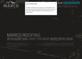 Marcoroofing.ca thumbnail