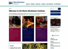 Mariamontessori.org thumbnail