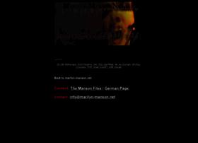 Marilyn-manson.net thumbnail