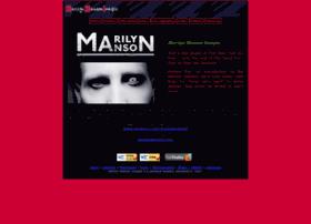 Marilynmansonimages.com thumbnail