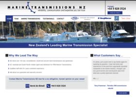 Marinetransmissions.co.nz thumbnail