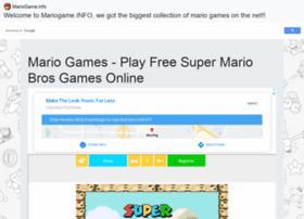 Mariogame.info thumbnail
