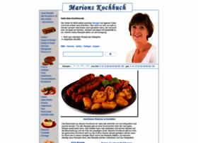 Marions-kochbuch.de thumbnail