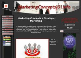 Marketingconcepts101.info thumbnail