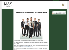 Marksandspencer.corporateclothes.co.uk thumbnail