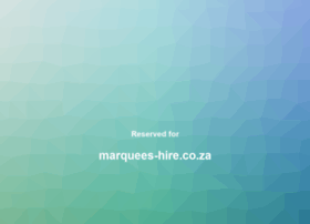 Marquees-hire.co.za thumbnail