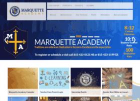 Marquetteacademy.net thumbnail