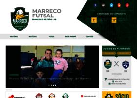 Marrecofutsal.com.br thumbnail