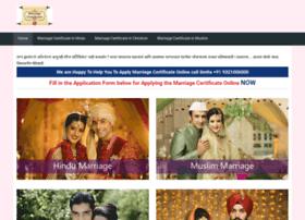 Marriagecertificateonline.com thumbnail