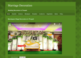 Marriagedecoration.com thumbnail